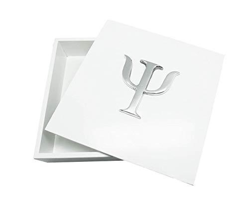 Caixa Decorativa, Psicologia, Branco, Sarquis Samara