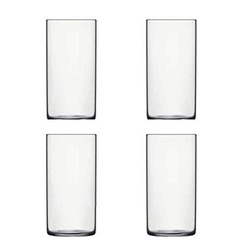 KDHJY Vasos chupito 4PCS Extra cóctel vidrios de la luz, Taza del Agua, Whisky Gafas, Lentes Collins Conjunto de 4 (Color : Clear Set of 4)
