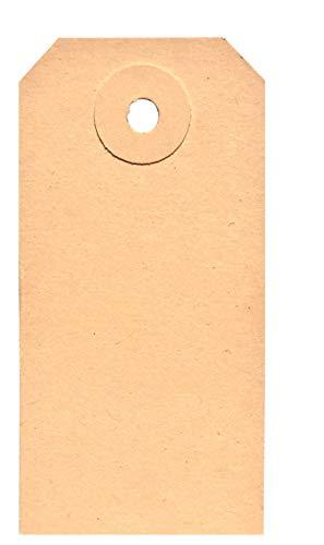 BT-Label 1000 Stückwarenanhänger 40 x 80 mm mit Loch (verstärkte Kartonöse), als Warenanhänger, Kartonanhänger, Anhängezettel, Papier-Anhänger, Tags, Karton-Etiketten