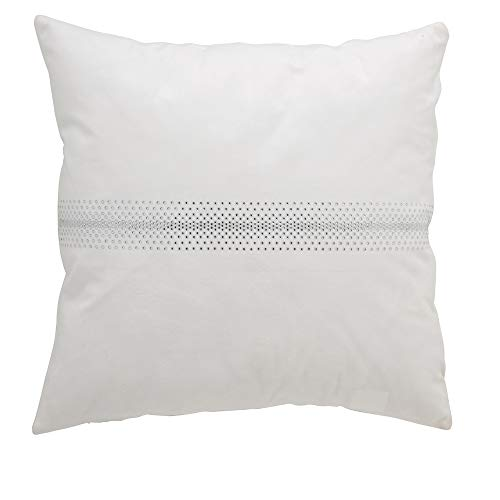 Funda Cojín ANTILO Luxury 14 Blanco (45x45 cm.)