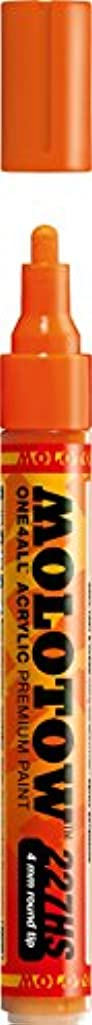 Molotow ONE4ALL Acrylic Paint Marker, 4mm, Dare Orange, 1 Each (227.203)