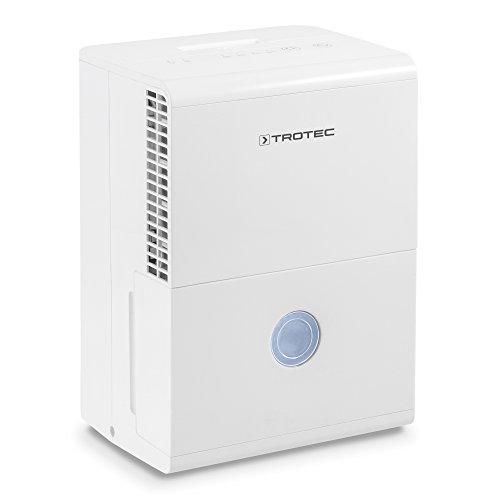 TROTEC Komfort Entfeuchter Luftentfeuchter TTK 28 E (max.10 L/Tag) geeignet für Räume bis 37 m³ / 15 m²