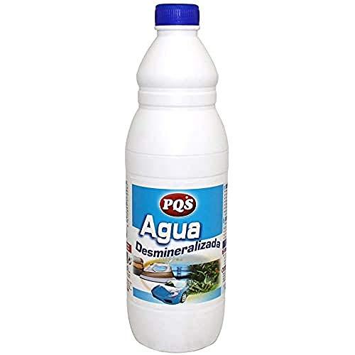 Pqs 1152010 Agua DESMINERALIZADA 1 LTR, Negro, Estándar