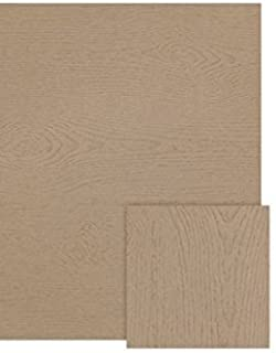 """LUXPaper 8.5"""" x 11"""" Paper for Crafts and Printing in Oak Woodgrain, Scrapbook and Office Supplies, 50 Pack (Brown)"""