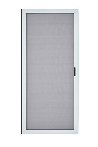 "K.D. Heavy Duty Aluminum Sliding Patio Screen Door Kit(36""x96"", White)-2.5"" Frame"