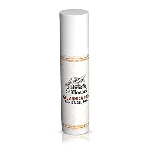 I Rimedi dei Monaci - árnica fuerte 100% italiano SUPER CONCENTRADO Certificado AIAB - Crema de árnica fuerte para el dolor de espalda traumatismos hematomas - Pomada antiinflamatoria ORGÁNICA