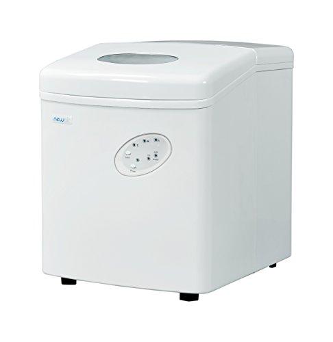 NewAir - Máquina para hacer hielo, 12,7 kg, color blanco