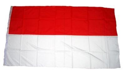 Fahne Schützenfest rot / weiß NEU 150 x 250 cm