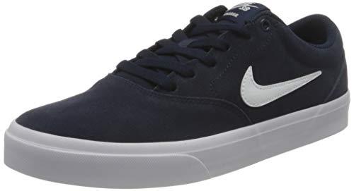 Nike SB Charge Suede, Gymnastics Shoe Unisex Adulto, Obsidian/Blanco, 42 EU