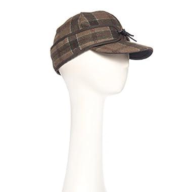 Stormy Kromer Men's Original Wool Cap,red Pine,7.625