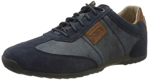 camel active Herren Space Sneaker, Blau (midnight/jeans 02), 39 EU