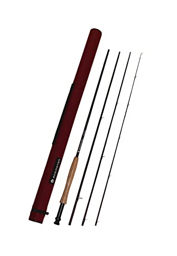 Redington Trace Fly Rod with Rod Tube (T-590-4) 4 Piece Rod 5 Weight 9 ft 0 in