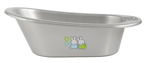 bébé-jou 6156 - Badewanne Miffy Retro Silber
