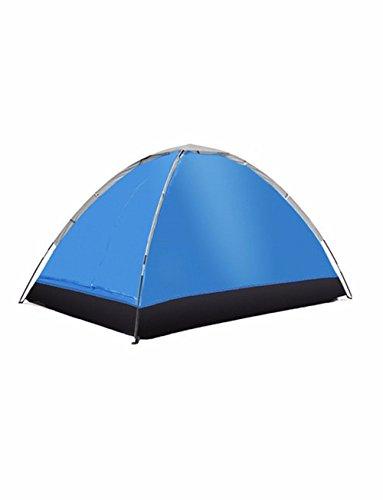 SJQKA-tente l'extérieur, 2 personne imperméables, double, le camping couple, lumière beach, intérieur tente pour enfants,blue