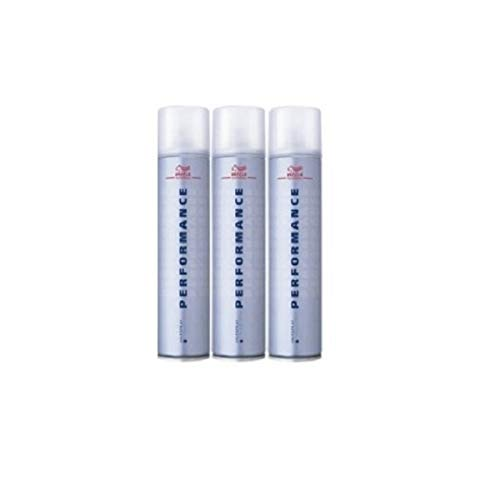 Wella Performance Haarspray Ultra Strong SET 3 x 500ml