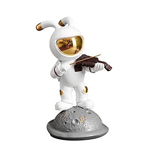 BULABULA Space Rabbit Scultures Astronaut Figurine Innovative Band ResinCollections Decoration Decoration N
