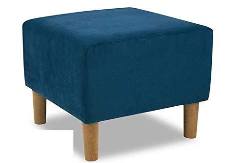 Bequemer und Trendiger Ohrensessel mit Armlehnen großer Sessel (Hocker)