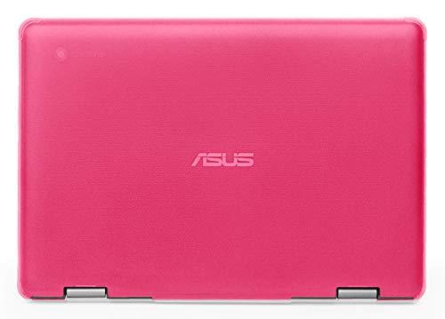 mCover - Carcasa rígida para ASUS Chromebook Flip C214MA de 11,6 Pulgadas (2019, no Compatible con Otros Modelos ASUS Chromebook) Rosa