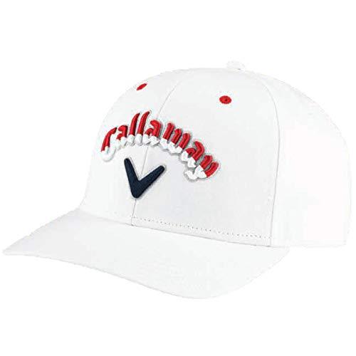 キャロウェイ メンズ スター&ストライプ シェブロン ハイクラウン キャップ 5218612 Callaway Limited Edition Stars & Stripes Hats USA直輸入品