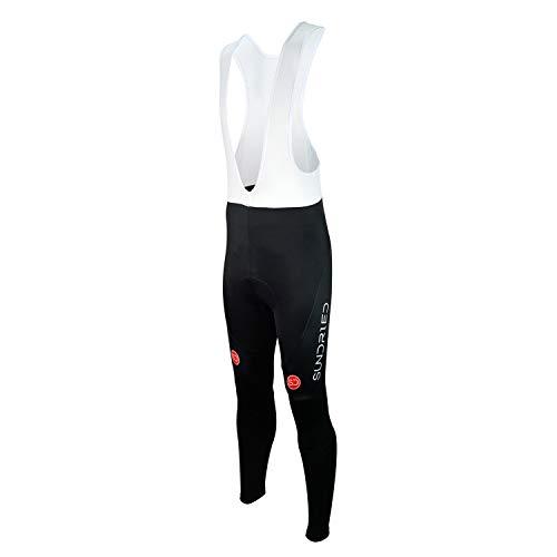 Sundried Mannen Fietsen draagbroek racefiets gevoerde bib pants mountainbike kleding