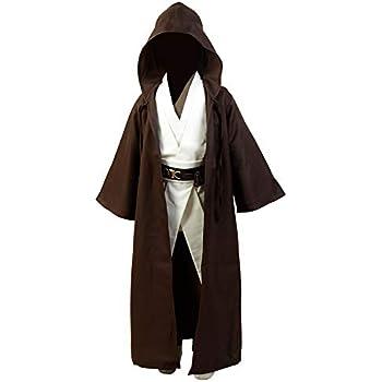 OBI WAN Kenobi Jedi Traje Cosplay niños M: Amazon.es: Juguetes y ...