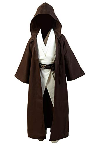 OBI WAN Kenobi Jedi Traje Cosplay niños M