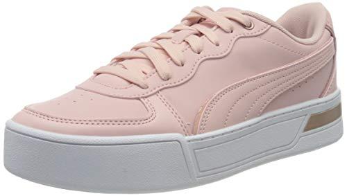 PUMA Damen Skye Metallic Sneaker, Peachskin-Peachskin-Rose Gold, 37.5 EU