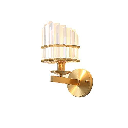 LIMIAO Luce Europeo Classico Barocco Americano Illuminazione del Giardino Creativo Diamante Lampada da Parete in Cristallo Soggiorno Camera da Letto Sala da Pranzo Sala conferenze Sala esposit