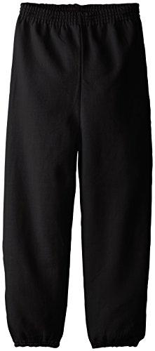 Hanes Boys  Big Eco Smart Pant, Black, Medium