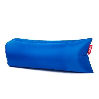 lamzac Fatboy 2.0 Canapé/Pouf/Sofa Gonflable | Bleu | Fatboy Hamac rempli d?air | pour l?extérieur (Plage, Jardin ou Piscine) | 200 x 90 x 50 cm