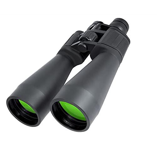 YMDA Lente Objetivo Grande 20-60x70 Binoculares, FMC Óptico Alta Potencia, Ampliación Variable Zoom Binoculares, Visión Nocturna, Observación de Aves