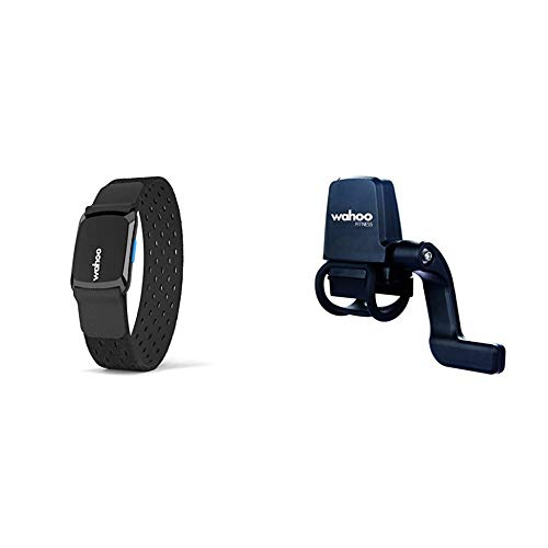 Wahoo TICKR FIT Herzfrequenz Armband, Bluetooth/ANT+ & Geschwindigkeits- undTrittfrequenzsensor, Bluetooth / ANT+