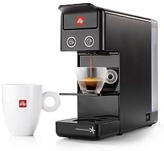 Illy y3.2 Espresso and Coffee Machine, 12.20x3.9x10.40, Black