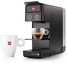 Illy 60296 y3.2 Espresso and Coffee Machine, 12.20x3.9x10.40, Black