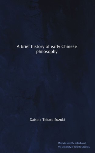 A brief history of early Chinese philosophy