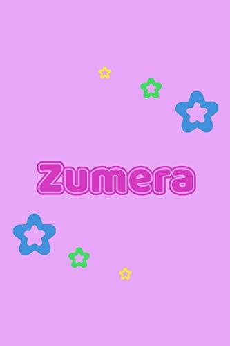 Zumera: Personalisiertes Vornamen Notizbuch / Tagebuch...