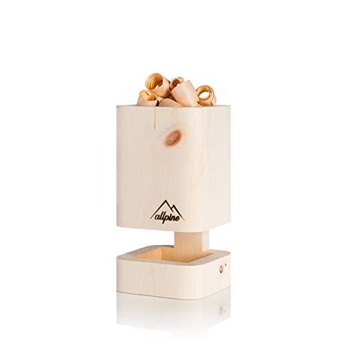 PuriLamp S - Die Originale Zirbenholz Duftlampe, Zirbenduft