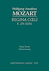 Regina Coeli, K. 276 (321b): Vocal score