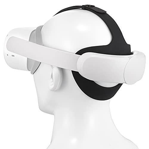 Soarking Elite Kopfband Verbessern Ersatz für Oculus Quest 2 Advanced All-in-One Virtual Reality Headset Zubehör