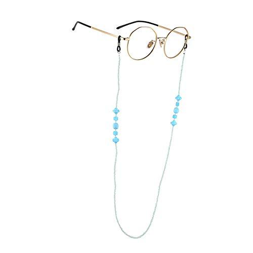 Beaded Eyeglass Chain Holder Sunglass Holder Strap Eyewear Retainer Lanyard Cord Mask Lanyard Face...
