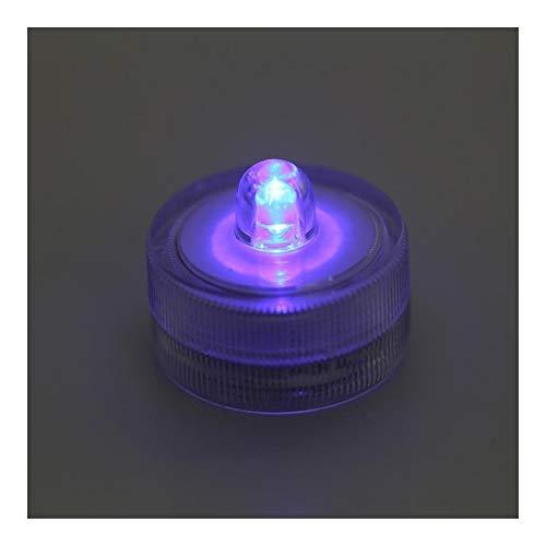 JSJJARF Aquarium Beleuchtung Aquarium-Licht-Ausgangstischdekoration Micro Landschaftslampe LED-Licht Klein Eco Zylinder Zubehör LED Aquarium Lampe (Color : Blue Light)