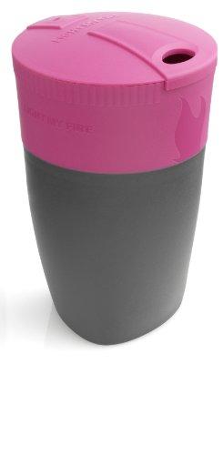 Light My Fire - Vaso plegable Pack Up, ideal para ir de camping o al aire libre, 42390710, Viola (Fuchsia), talla única