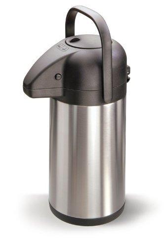 Pump Isolierkanne Iso Kanne Edelstahl 1,9l Kaffeekanne Teekanne