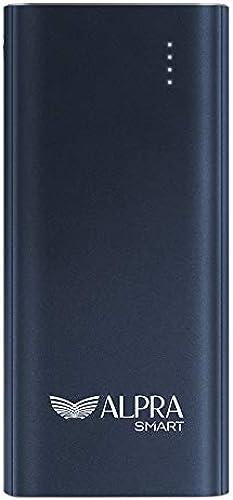 ALPRA Fast 10 Li Polymer Power Bank 18W Fast Charging 10000 mAh Navy Blue