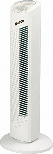 Deko B350 Stratos B 291 Turmventilator weiss, 50 W, 240 V, 22,5 cm x 16.3 cm x 77.5 cm