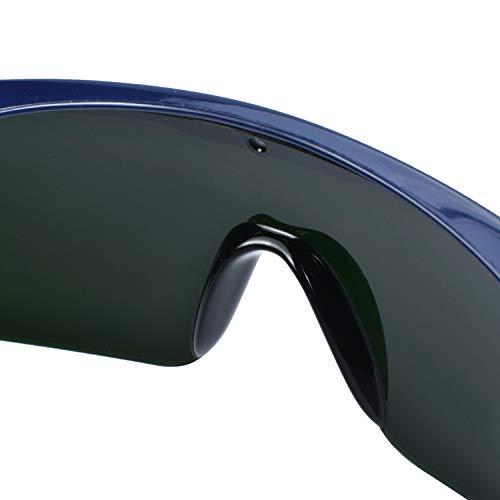 Mufly Schweißerbrille Schweißer Sicherheitsbrillen,klappbar,Anti-Flog,Anti-Shock,Blendschutz,Schutzgläser für Schweißer mit transparenter und schwarzer Brille(IR5.0) - 9