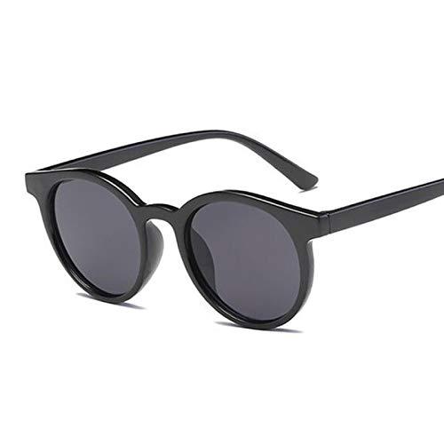 WANGZX Gafas De Sol con Espejo Retro Gafas De Sol De Ojo De Gato para Mujer Gafas De Sol De Calle para Mujer Uv400 Blackgray