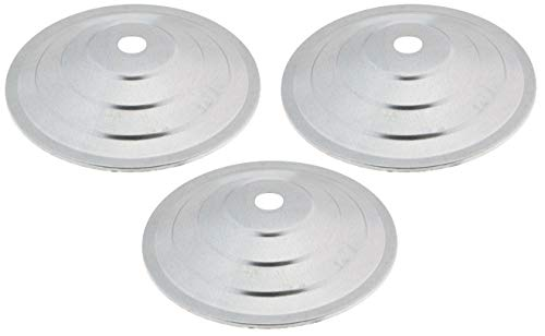 Little Giant 3 Pack of Hanging Poultry Feeder Covers, 11.5 Inches Each, Metal