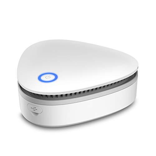 VANSU Battery Powered 20mg/h Mini Ozone Generator,Portable Odor Eliminator Deodorizer for Home,Car,Refrigerator,Shoe Cabinet, Hunting Bag