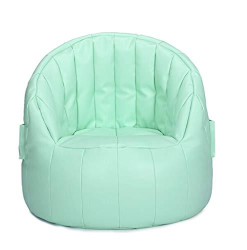 XinQing faules Sofa Pu-Leder Material Faule Couch Multicolor Sitzsack Komfortable Kostenlose Waschbar Stuhl Schlafzimmer Wohnzimmer Freizeit Stuhl Kreative Geschenk 75 × 76 cm